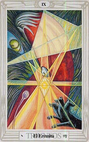 El Eremita - Tarot Thoth