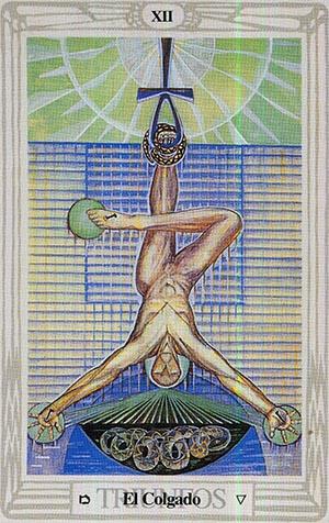 El Colgado - Tarot Thoth